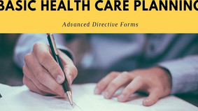 Basic Health Care Planning