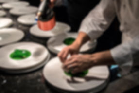 Food photography at Michelin-starred restaurant in Conrad Algarve