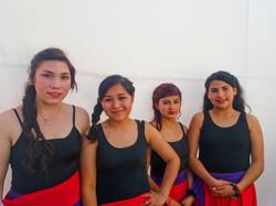 """Bailarinas de """"Hasta la raíz"""""""