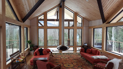 Family room with a view