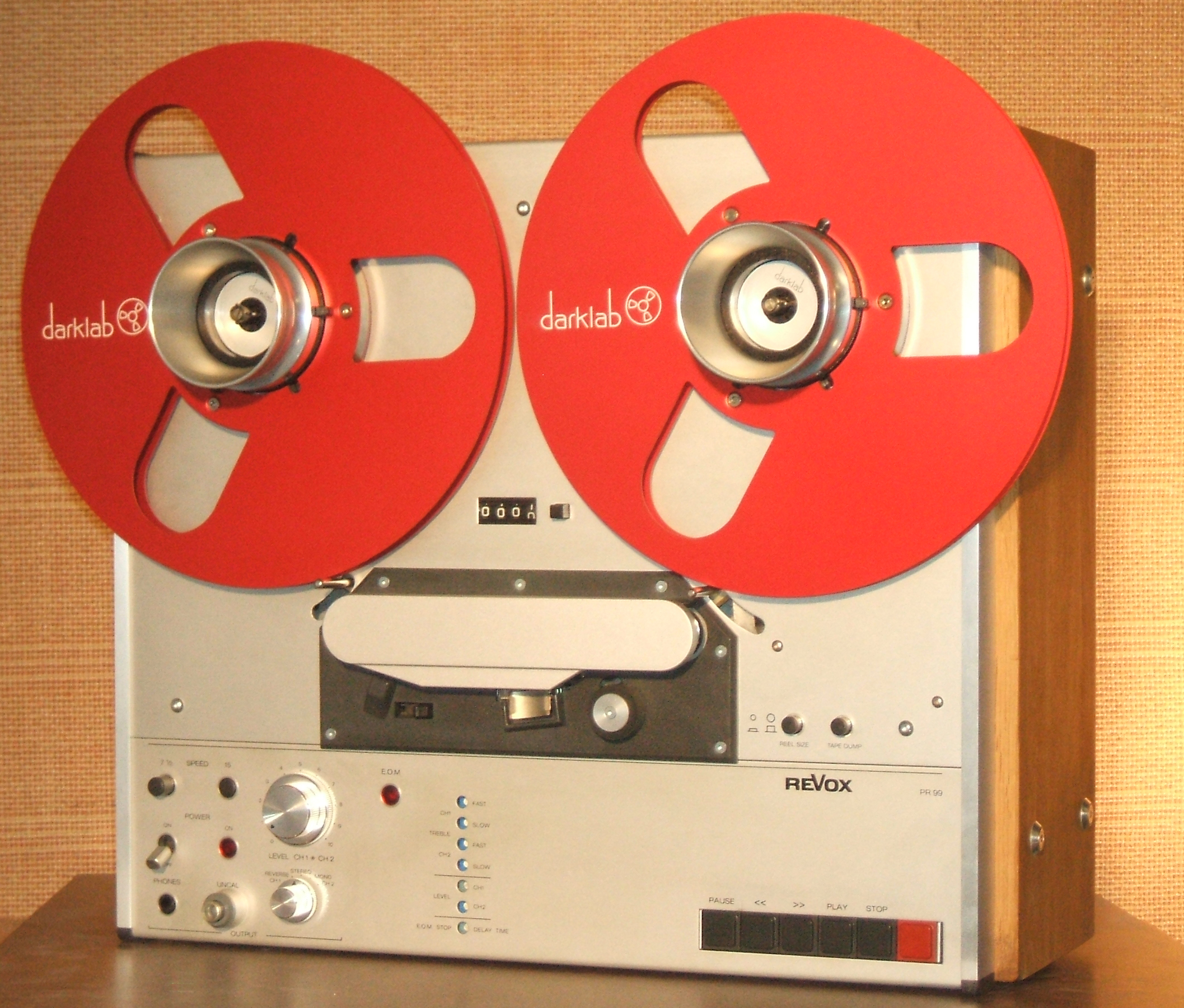 REVOX PR-99 RADIO BOIS