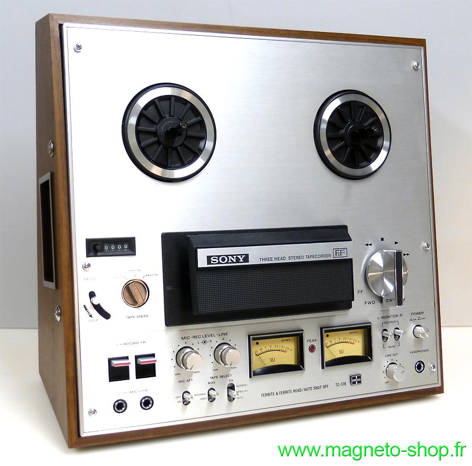 SONY TC-378 - 4 PISTES