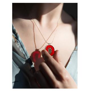 Mind Your Heart - pendant