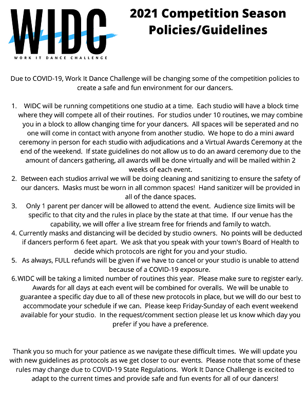2021 Competition Season Policies_Guideli