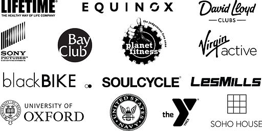 Stages Cycling customer logos