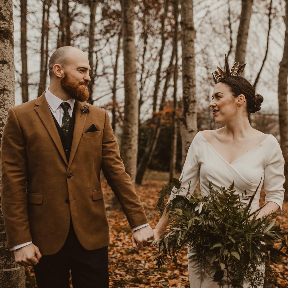 Claire and Cédric. Garthmyl Hall