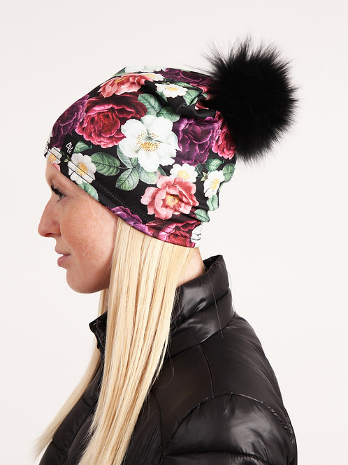 Tuque sport fleurie ample