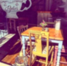 Tearoom Tables & Chairs