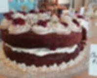 Chocolate, Cherry & Hazelnut Cake