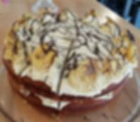 Banana & Salted Caramel Cake