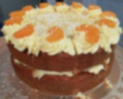 Orange & Lemon St Clements Cake