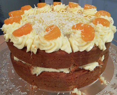 Orange & Lemon St Clements Cake