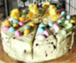 Mini Easter Egg Cake