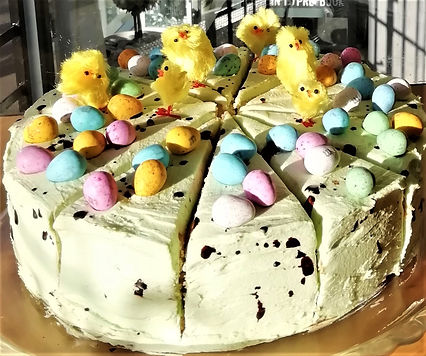 Mini Easter Egg Cake