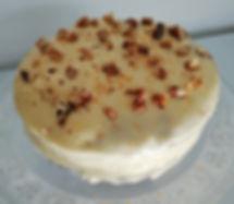 Lightly Spiced Parsnip & Orange Cake.