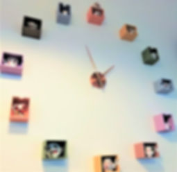 Baxter's Tearoom Unique Wall Clock