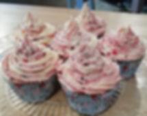 White Chocolate & Blackberry Cupcakes