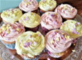 Elderflower and Rose Cupcakes