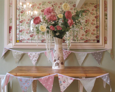 Fabulous Flowers & Beautiful Bunting