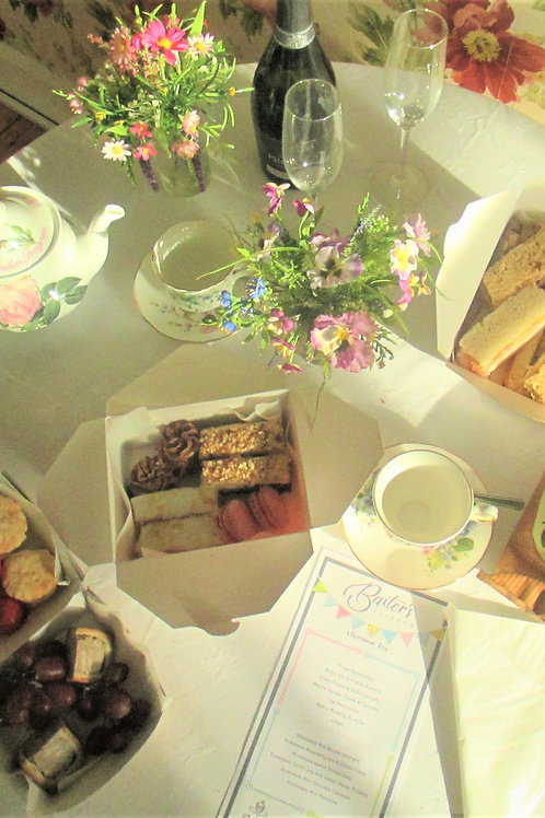Take-away Afternoon Tea for Two