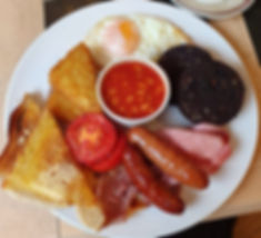 Our Popular Full Baxter's Breakfast