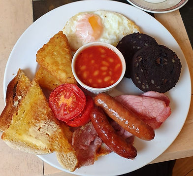 Our Popular Full Baxter's Breakfast
