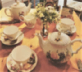 Tea Is Always Served in English Bone China