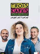 3 Trois Cafés Gourmands en concert à l'Oppidum de Champagnole en 2019