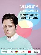 Vianney en concert à Champagnole en 2016