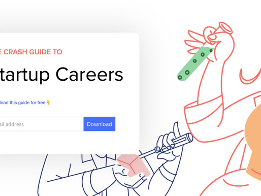 The Crash Guide to Startup Careers