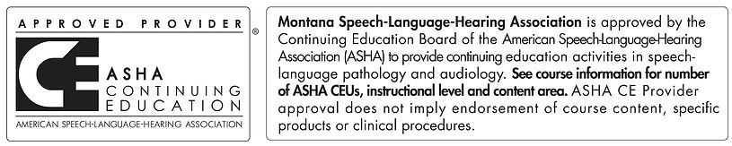 Montana Speech-Language-Hearing Associat