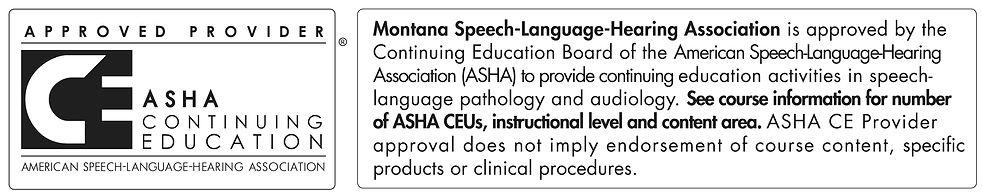 Montana Speech-Language-Hearing Associat