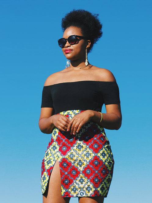Yasy Split Skirt