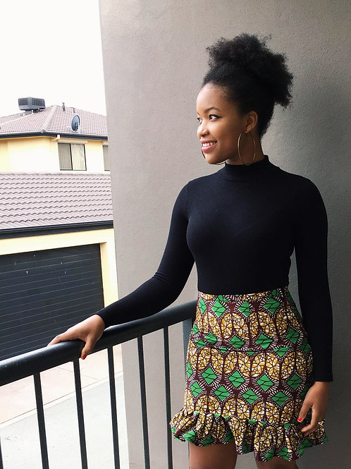 Zhouu Frill Skirt