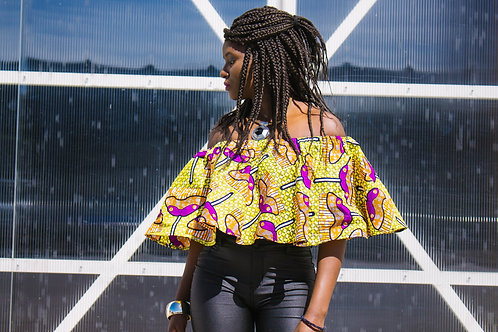 Mbuyi Flare Top