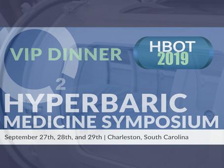 HBOT 2019 VIP Dinner