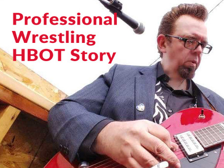 Pro Wrestling Star's HBOT Experience