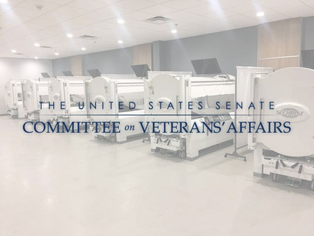 Senate VA Committee Passes Legislation expanding use of Hyperbaric Oxygen Therapy for Veterans