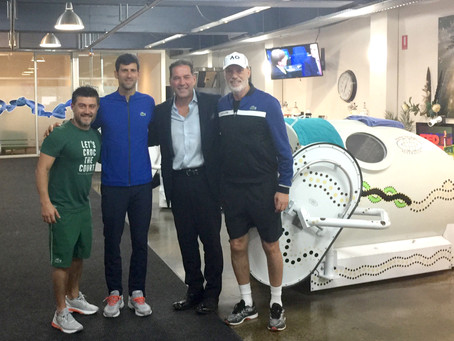 What do World-Class Tennis and Hyperbaric Oxygen Therapy have in common?