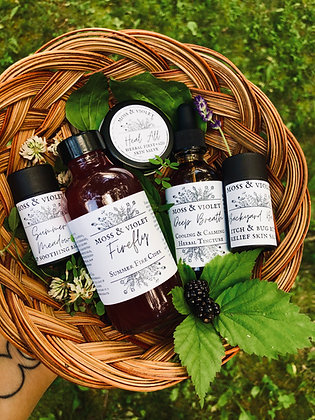 Summer Forest Apothecary Box