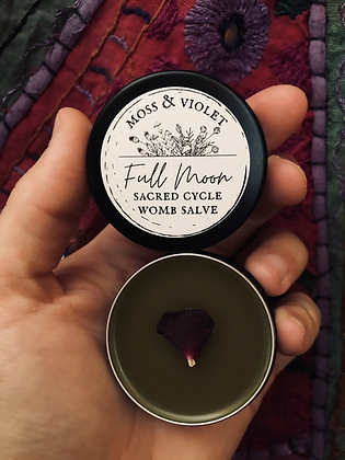 Full Moon | Sacred Cycle Womb Salve