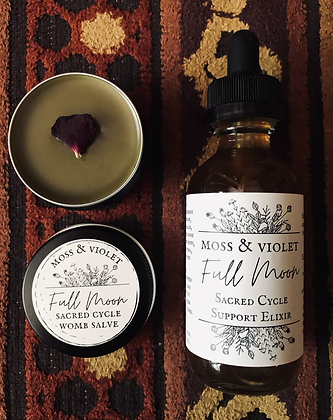 Full Moon | Sacred Cycle Support Duo