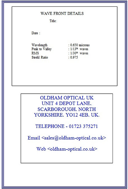 Oldham optical certificate of conformity need help choosing an optical solution contact us yadclub Image collections