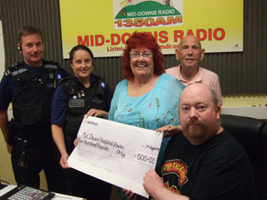 MDR GETS A GRANT FROM THE POLICE