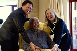 Hillary Clinton og Graca Machel