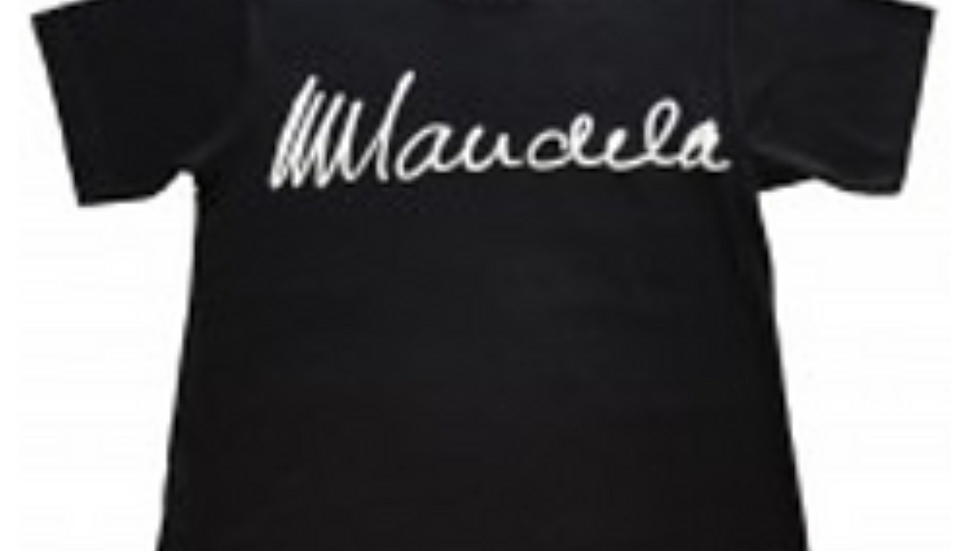 Originale Mandela Signatur T-shirts