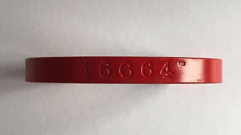 46664 Red MyCopper Mandela Bangle