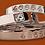Thumbnail: 46664 Sølv Mandela armbånd