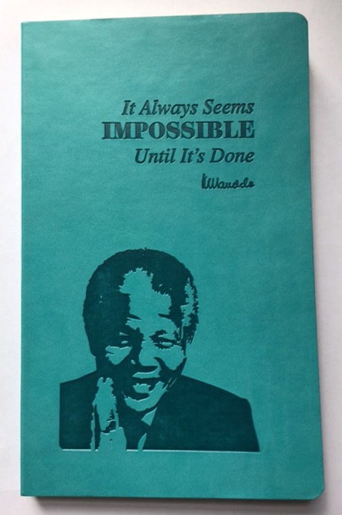 Nelson Mandela Notebook