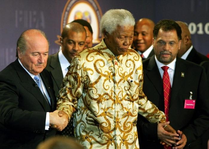 FIFA president Sepp Blatter - 2010